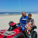 Megan Murphy with son